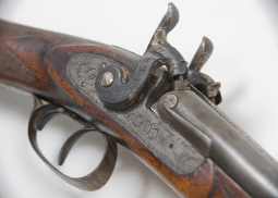 Hudson bay presentation rifle